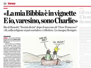 Articolo su La Provincia di Varese